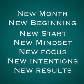 New Month New Beginning
